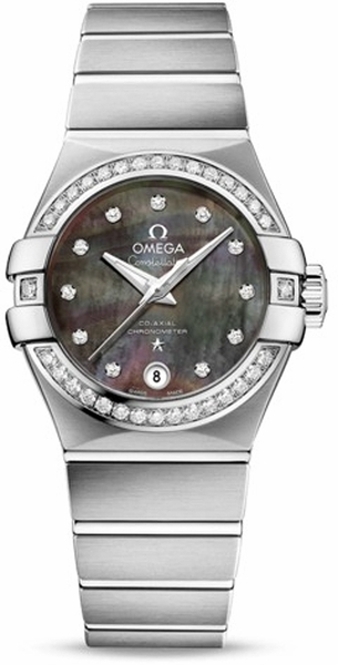 Omega Constellation Tahiti Mother of Pearl Dial Women's Watch 123.15.27.20.57.003