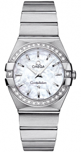 Omega Constellation Diamond Women's Watch 123.15.27.60.05.001