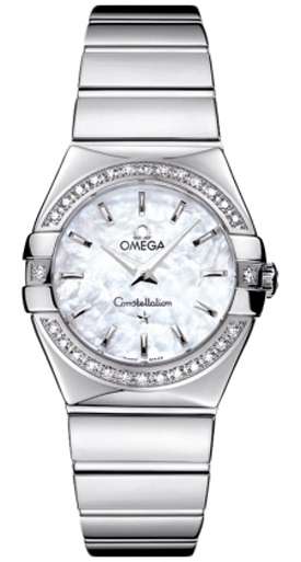 Omega Constellation Ladies Luxury Watch 123.15.27.60.05.002