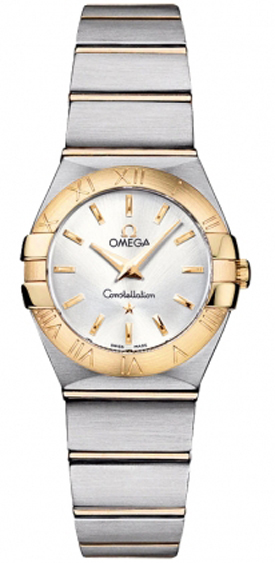 Omega Constellation Silver Dial Women's Watch 123.20.24.60.02.002