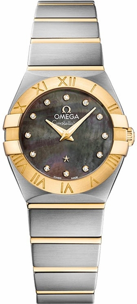 Omega Constellation Diamond Dial Women's Watch 123.20.24.60.57.006