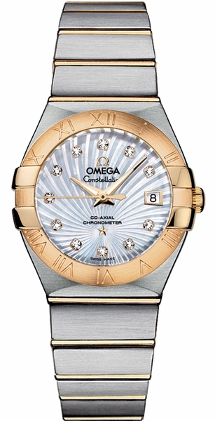Omega Constellation Automatic 27mm Women's Watch 123.20.27.20.55.002