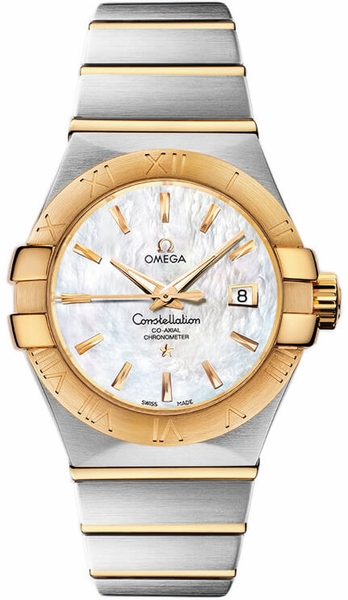 Omega Constellation Co-Axial Chronometer Luxury Women's Watch 123.20.31.20.05.002