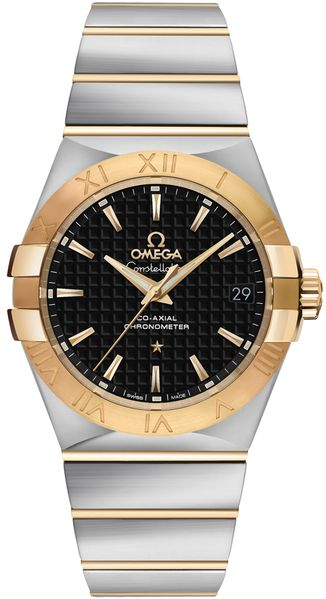 Omega Constellation Two-Tone Men's Dress Watch 123.20.35.20.01.002