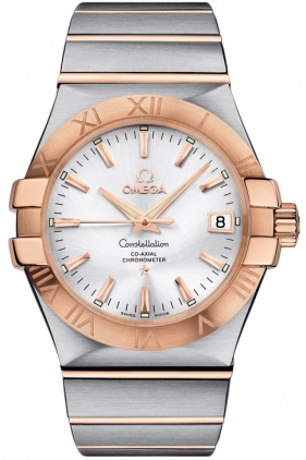 Omega Constellation Steel & Rose Gold 123.20.35.20.02.001