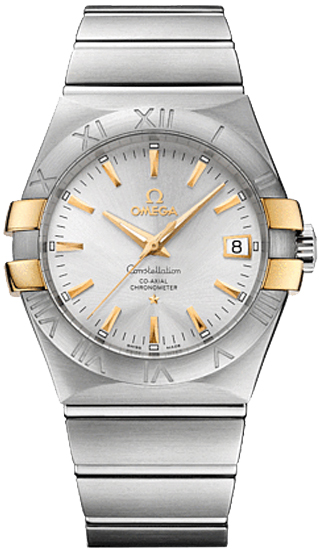 Omega Constellation Silver Dial Men's Watch 123.20.35.20.02.004