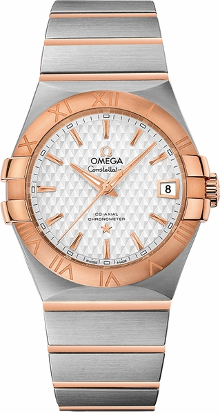Omega Constellation Two-Tone Men's Dress Watch 123.20.35.20.02.005