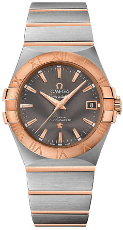 Omega Constellation Two-Tone Men's Watch 123.20.35.20.06.002