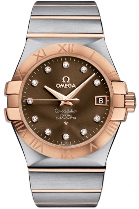 Omega Constellation Brown Dial Men's Watch 123.20.35.20.63.001