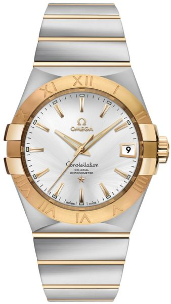 Omega Constellation New Men's Luxury Watch 123.20.38.21.02.002