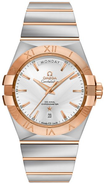 Omega Constellation Rose Gold Men's Luxury Watch 123.20.38.22.02.001