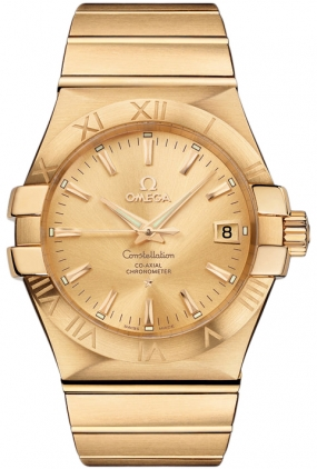 Omega Constellation Gold Men's Watch 123.50.35.20.08.001