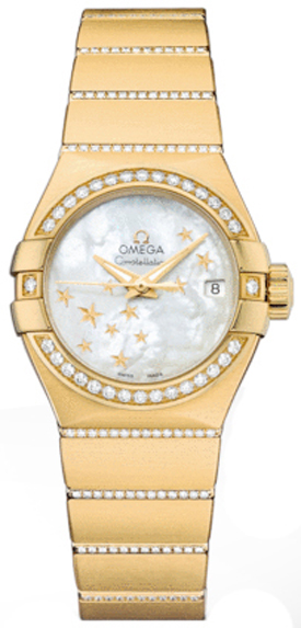 Omega Constellation Diamond Women's Watch 123.55.27.20.05.002