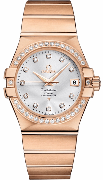 Omega Constellation Luxury Watch for Men 123.55.35.20.52.001