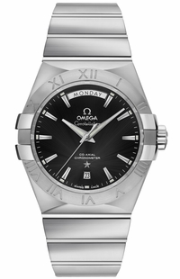 Omega Constellation Black Dial Men's Luxury Watch 123.10.38.22.01.001