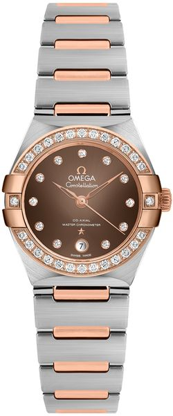 Omega Constellation Brown Dial Women's Watch 131.25.29.20.63.001