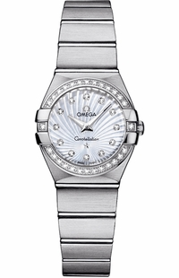 Omega Constellation Diamond Women's Watch 123.15.24.60.55.002