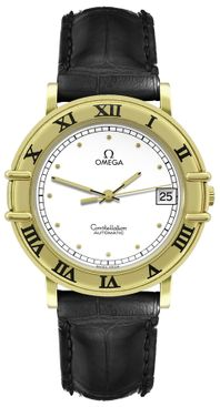 Omega Constellation Solid 18k Yellow Gold Men's Watch 168.0075