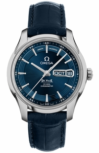 Omega De Ville Blue Dial Annual Calendar 41mm Men's Watch 431.33.41.22.03.001