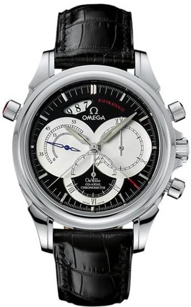 Omega De Ville Chronoscope Co-Axial Rattrapante Men's Watch 4847.50.31
