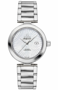 Omega De Ville Ladymatic Pearl White Supernova Pattern Dial Women's Watch 425.30.34.20.05.001