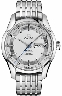 Omega De Ville Silver Dial Men's Luxury Watch 431.30.41.22.02.001