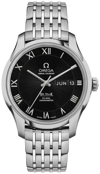 Omega De Ville Calibre 8601 Automatic Chronometer Men's Watch 431.10.41.22.01.001