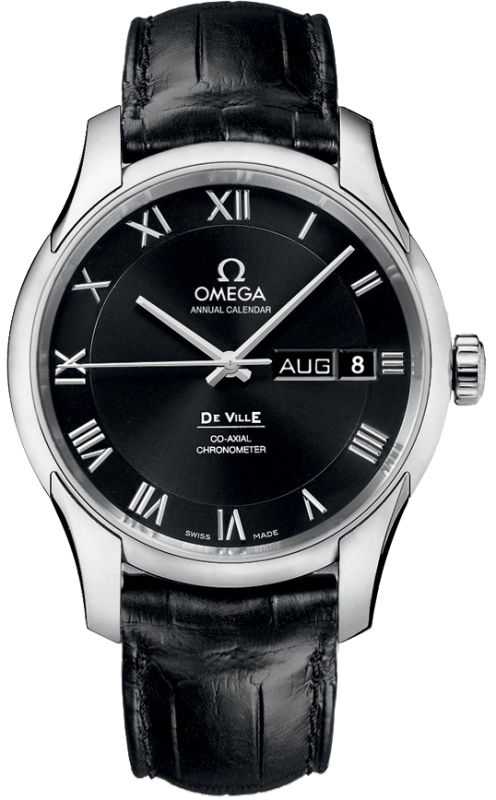 Omega DeVille 41mm Black Dial Men's Watch 431.13.41.22.01.001