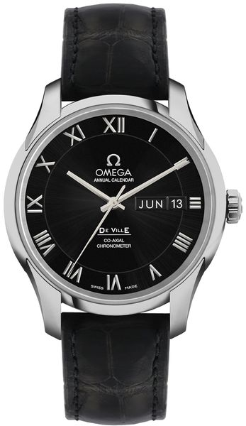 Omega De Ville 41mm Black Dial Men's Watch 431.13.41.22.01.001