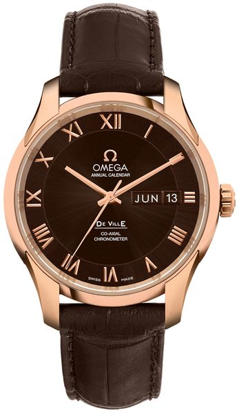 Omega De Ville Brown Dial Men's Watch 431.53.41.22.13.001