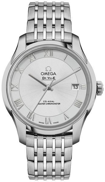 Omega De Ville Men's Automatic Chronometer Dress Watch 433.10.41.21.02.001