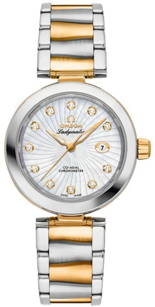 Omega De Ville Ladymatic Women's Luxury Watch 425.20.34.20.55.002