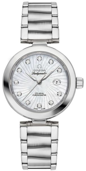 Omega De Ville Ladymatic 34mm Automatic Women's Luxury Watch 425.30.34.20.55.001