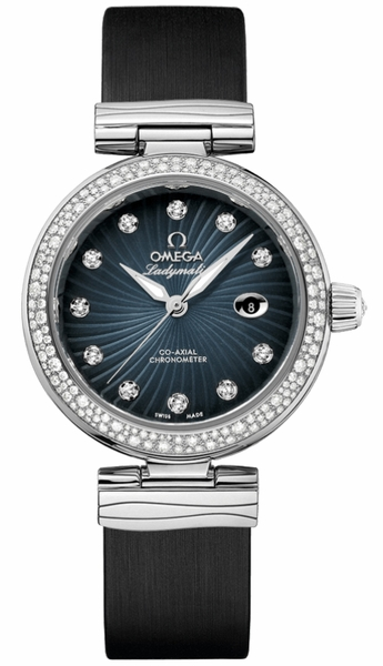 Omega De Ville Ladymatic Diamond Women's Luxury Watch 425.37.34.20.56.001