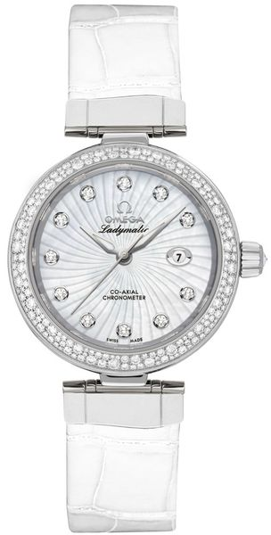 Omega De Ville Ladymatic 34mm Women's Watch 425.38.34.20.55.001
