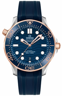 Omega Seamaster Blue Dial 42mm Men's Watch 210.22.42.20.03.002