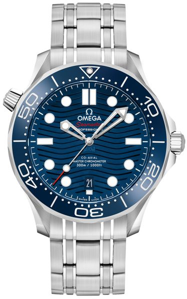 Omega Seamaster Diver 300M Blue Dial Men's Watch 210.30.42.20.03.001