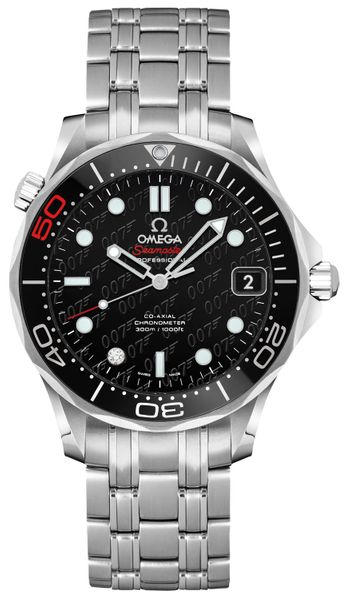Omega Seamaster James Bond 007 Limited Edition Watch 212.30.36.20.51.001