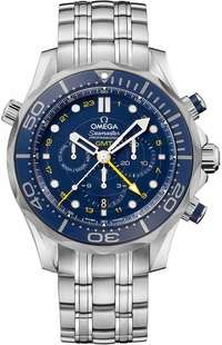 Omega Seamaster Chronograph Blue Dial Men's Watch 212.30.44.52.03.001