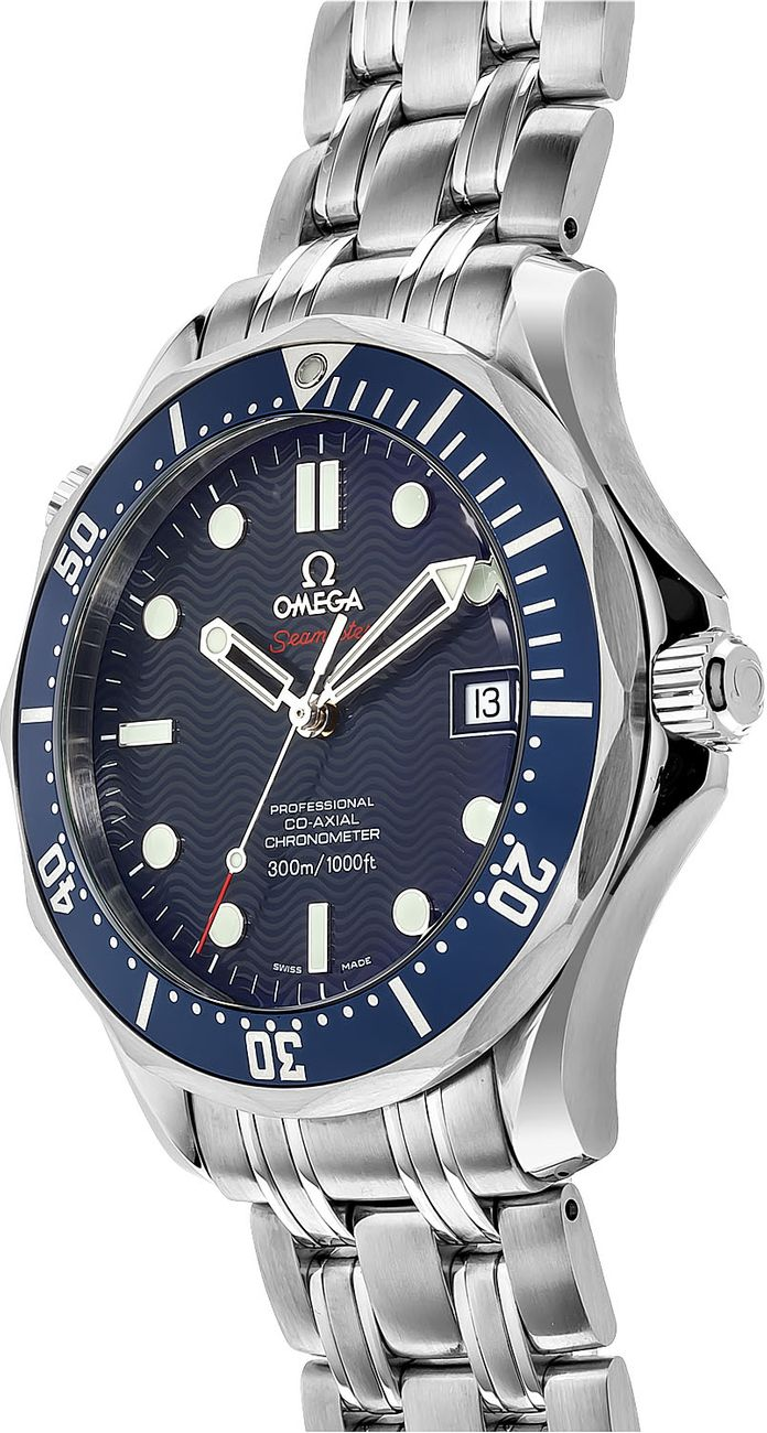 2220.80.00 Omega Seamaster Automatic Blue Dial Men's Watch