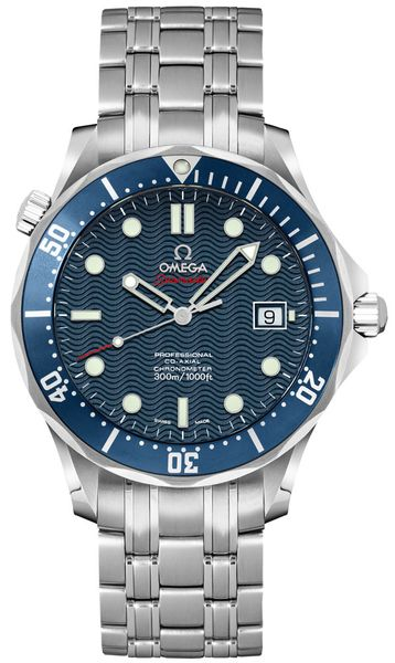 Omega Seamaster Blue Dial James Bond Men's Watch 2220.80.00