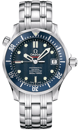 Omega Seamaster Blue Dial Women's Diver Watch 2222.80.00