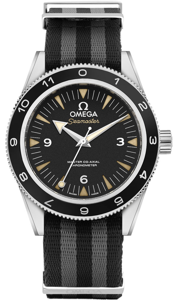 Omega Seamaster James Bond Spectre Limited Edition 300M Men's Watch 233.32.4..