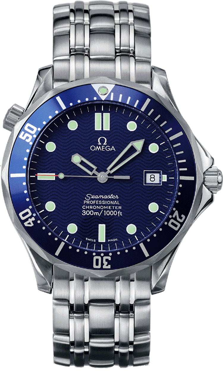 25318000 Omega Seamaster James Bond Automatic Steel Blue ...