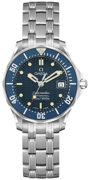 Omega Seamaster 300M Blue Dial Women's Watch 2583.80.00