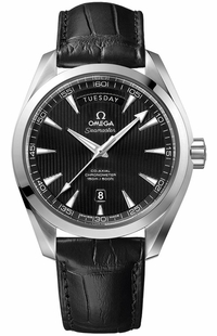 Omega Seamaster Aqua Terra Day Date Black Dial Men's Watch 231.13.42.22.01.001