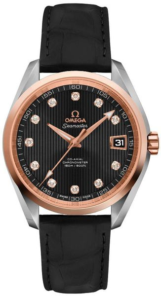 Omega Seamaster Aqua Terra Diamonds Men's Watch 231.20.39.21.51.003