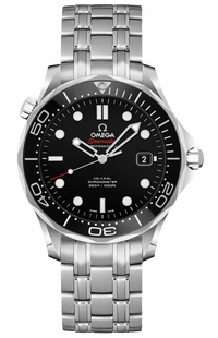 Omega Seamaster Black Dial Automatic Watch 212.30.36.20.01.002