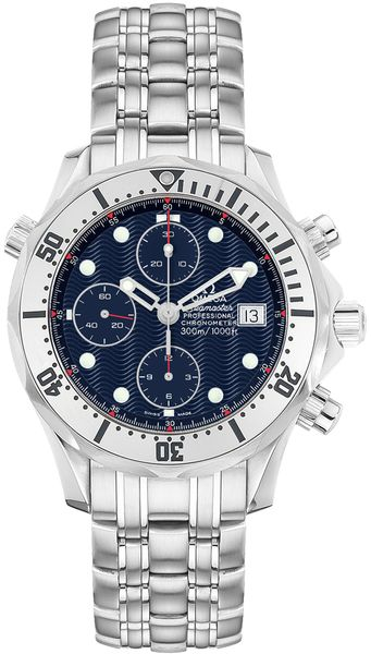 Omega Seamaster Chrono Diver Blue Dial Men's Watch 2598.80.00