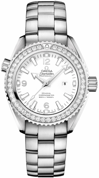 Omega Seamaster Planet Ocean Diamond 37.5mm Women's Watch 232.15.38.20.04.001